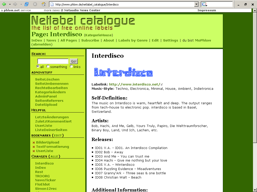 What is Netlabels org?