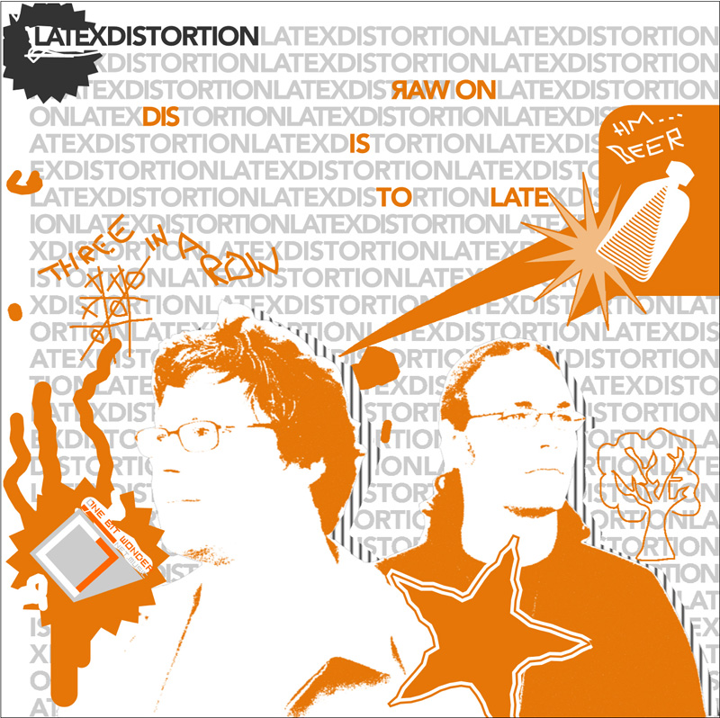 Cover of Dis is to late E.P.