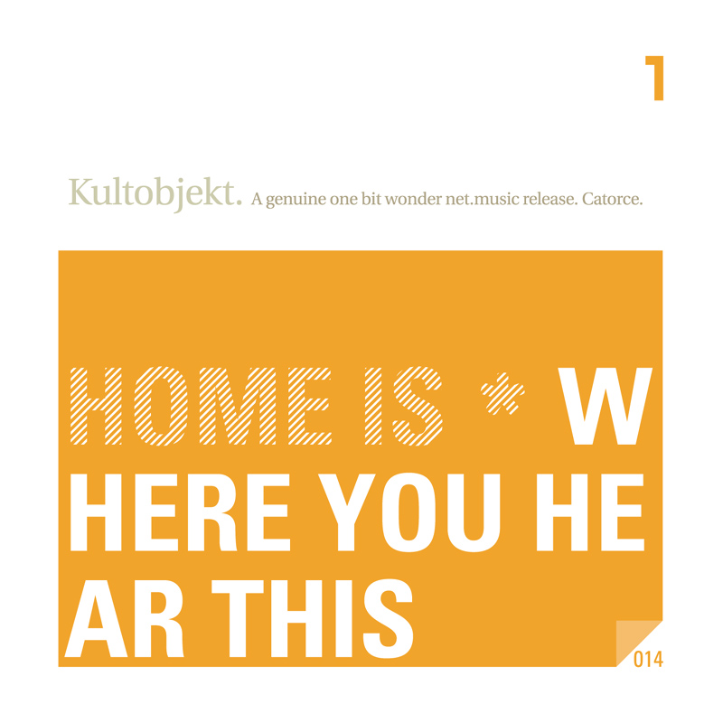 Cover of Home is...