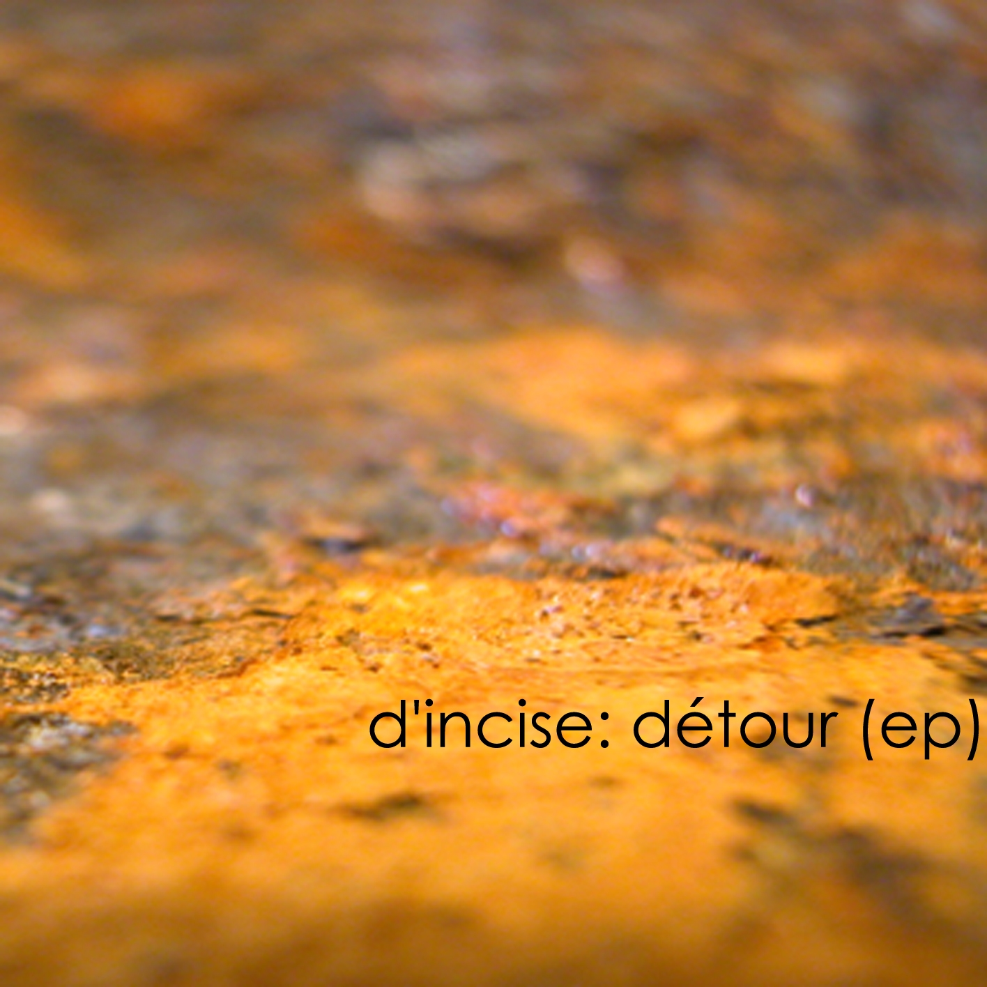 Cover of Detour (ep)
