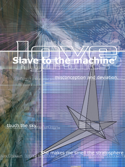 Cover of Love Hydrolics : Slave to the machine