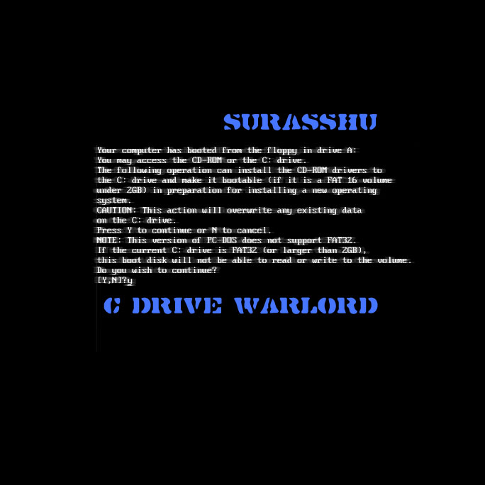 Cover of C drive warlord