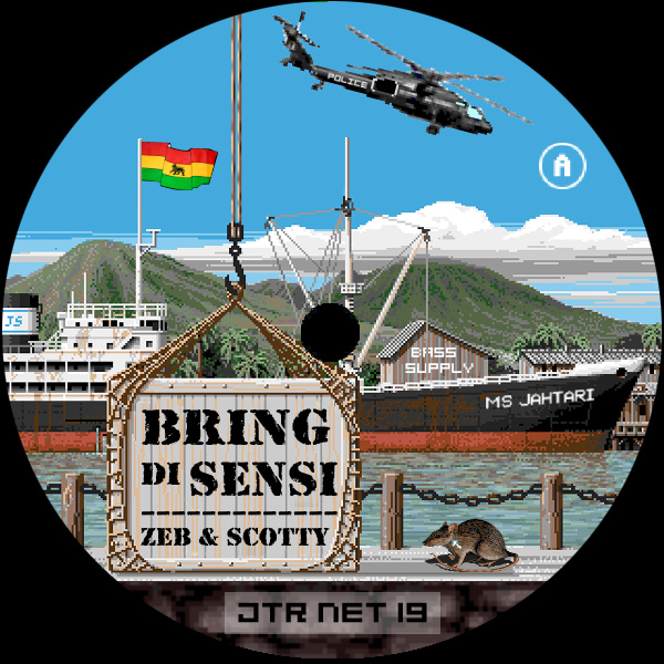Cover of Bring The Sensi / Dressla - Bomb Their Circles