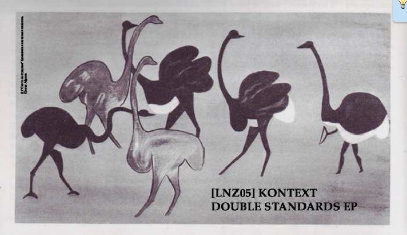 Cover of Double Standarts EP