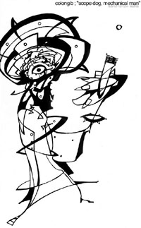 Cover of Scopedog, Mechanical Man