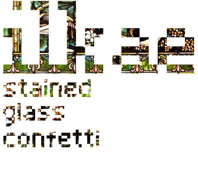Cover of Stained Glass Confetti EP