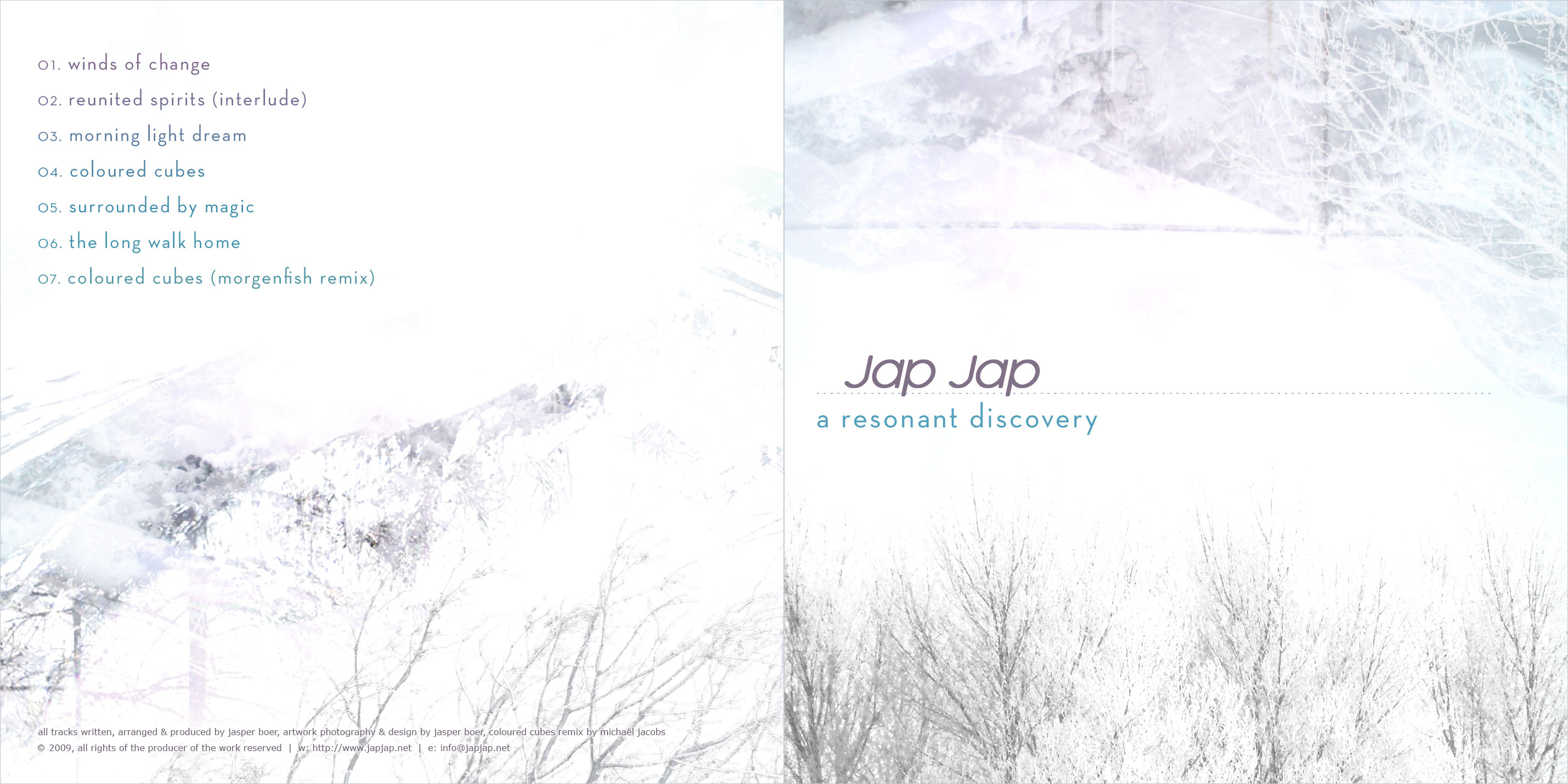 Cover of A Resonant Discovery EP