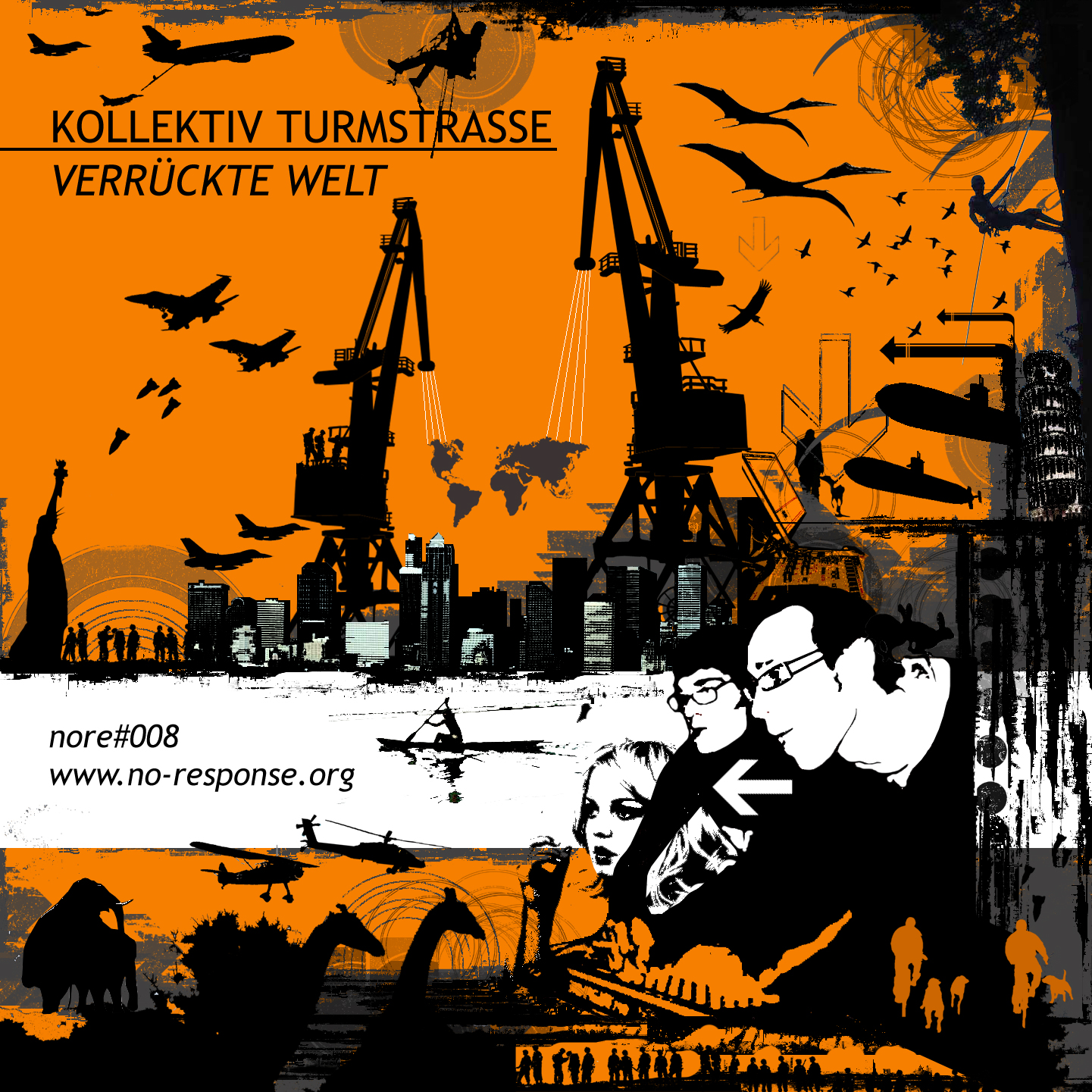 Cover of Verrueckte Welt