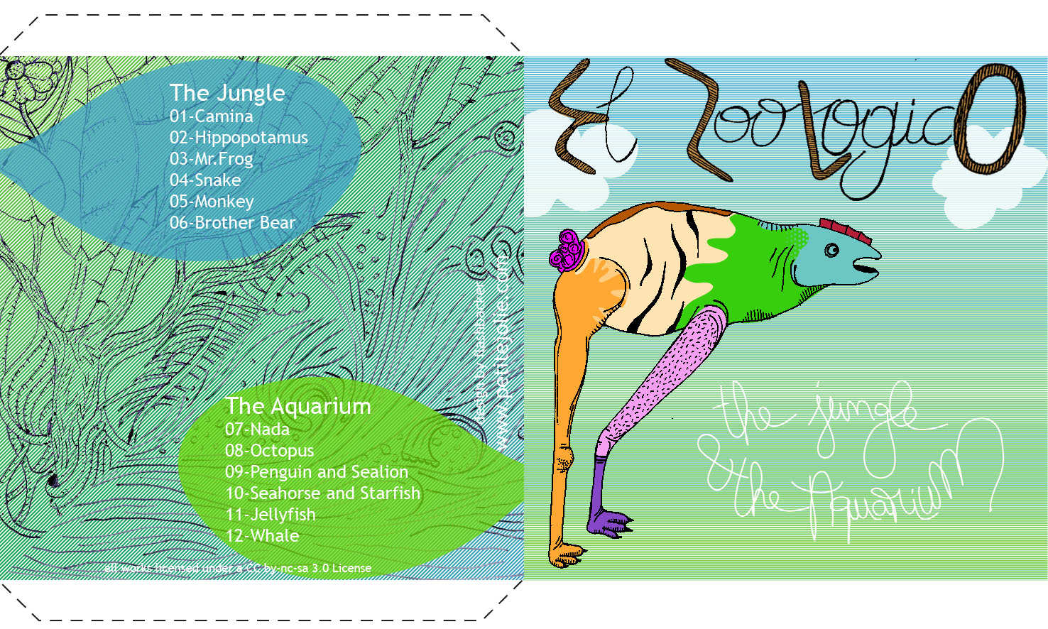 Cover of The Jungle & The Aquarium