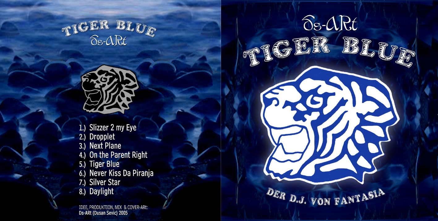 Cover of Tiger Blue