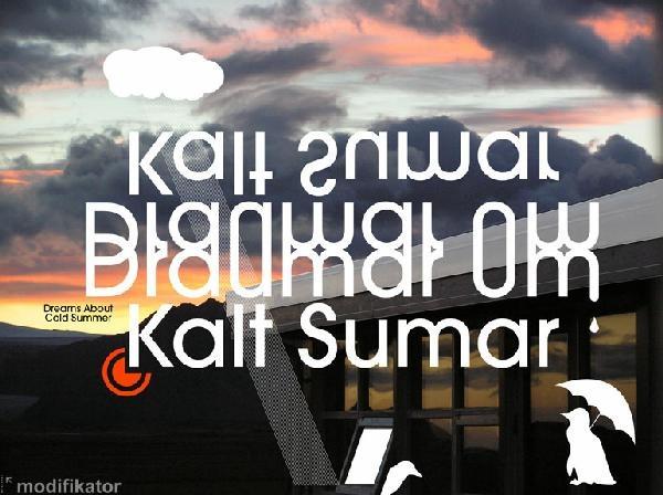 Cover of Draumar Um Kalt Sumar
