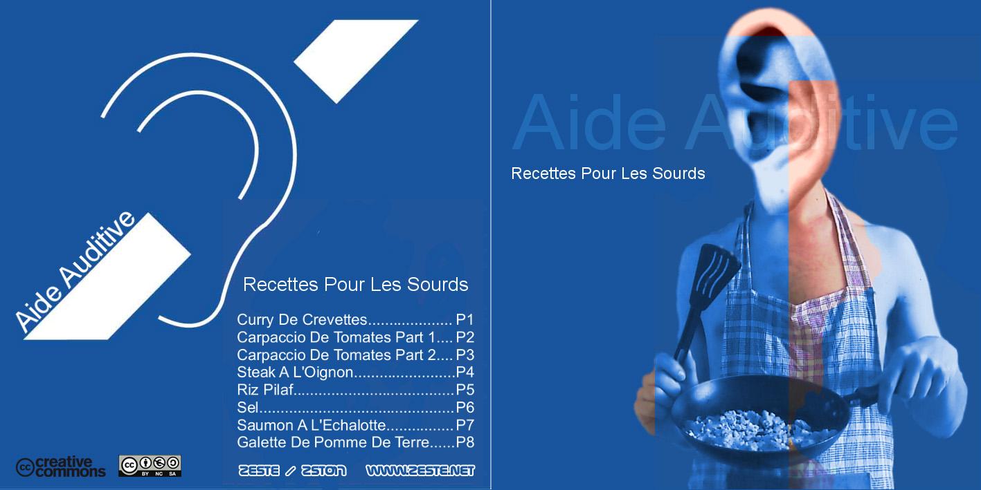 Cover of Recettes Pour Les Sourds