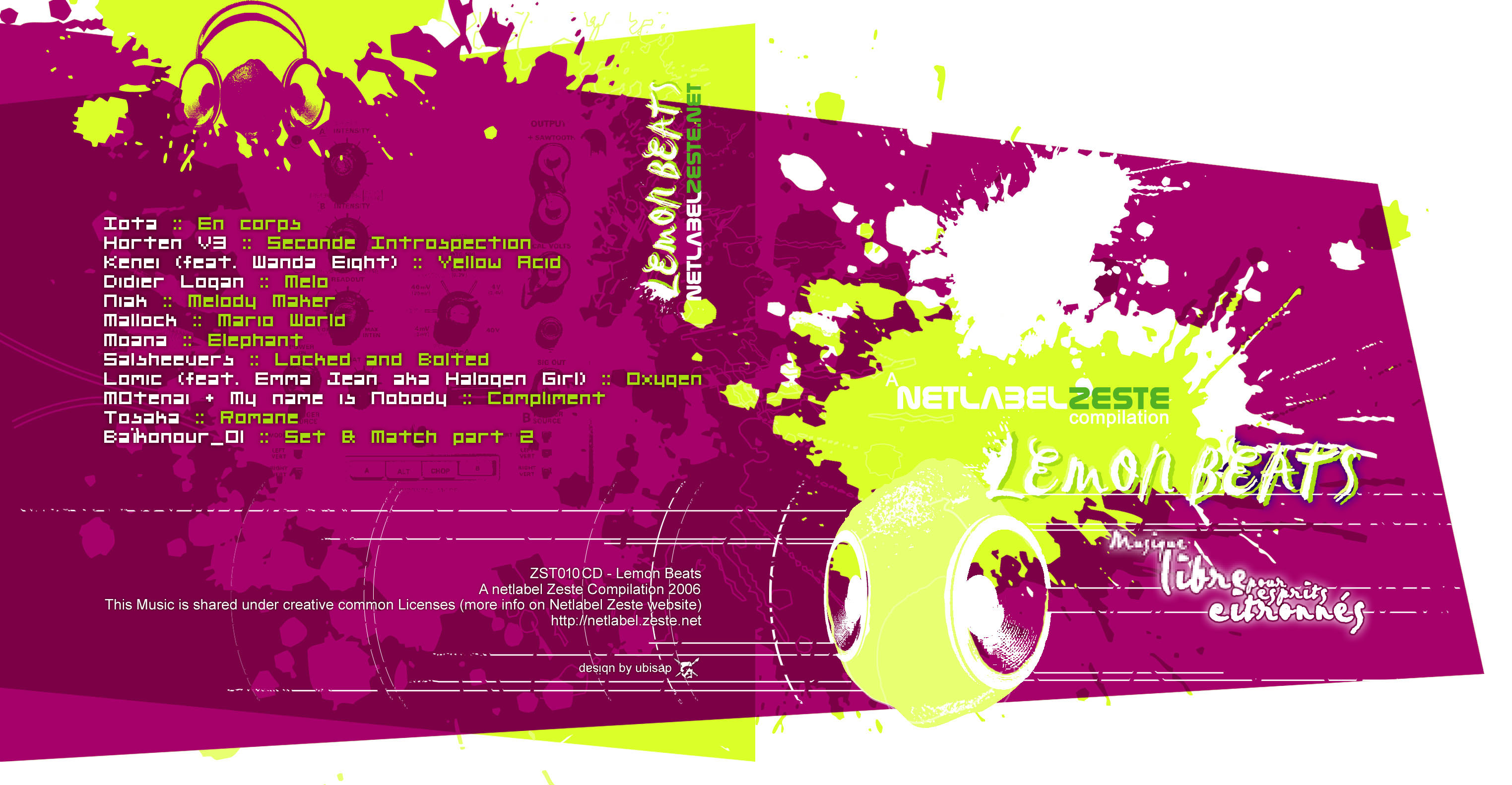 Cover of A Zeste Compilation