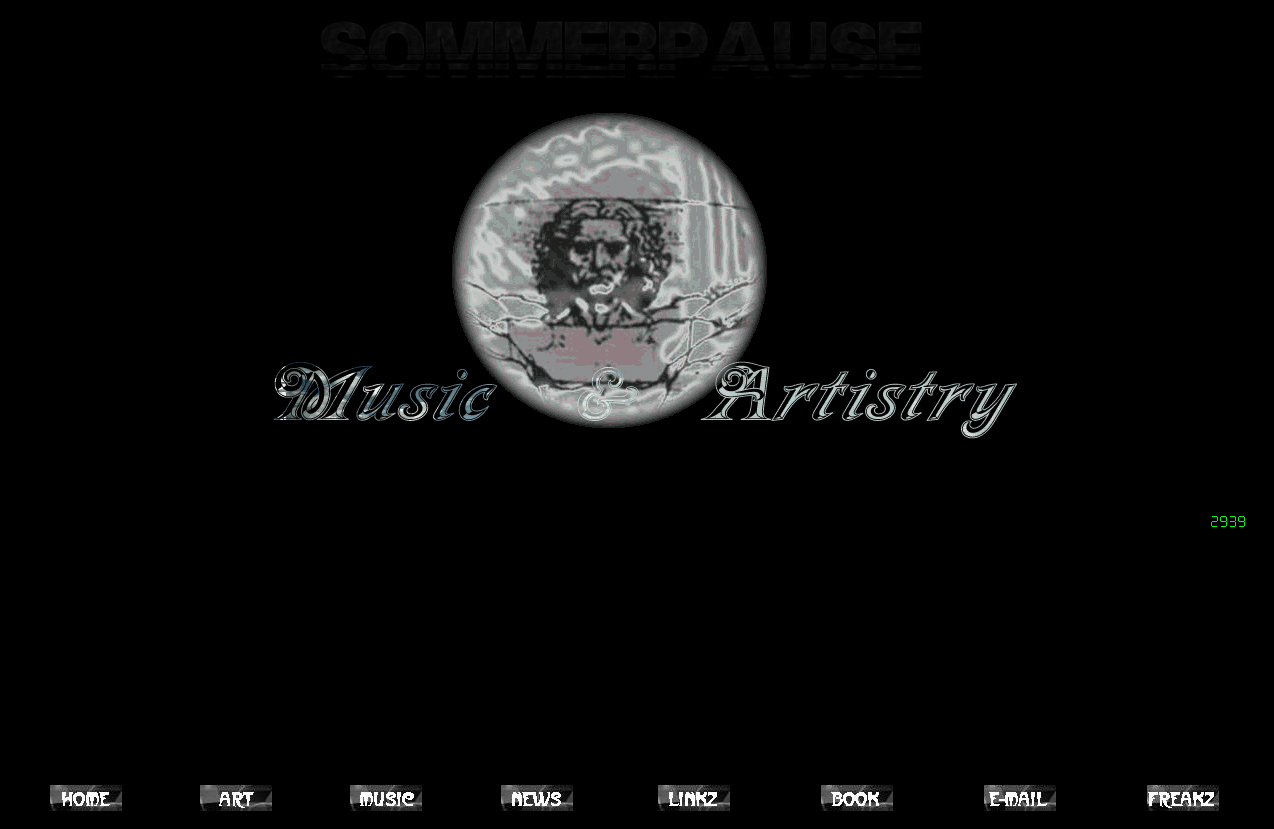 Screenshot Website Musicartistry