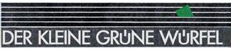 der kleine grüne Würfel Logo